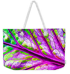 Colorful Coleus Abstract 2 Weekender Tote Bag
