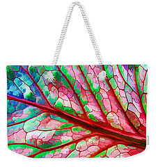 Colorful Coleus Abstract 5 Weekender Tote Bag