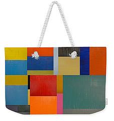 Colorful Collage 1.0 Weekender Tote Bag