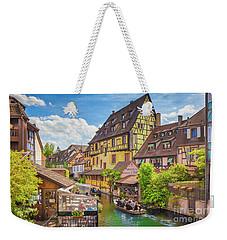 Colorful Colmar Weekender Tote Bag