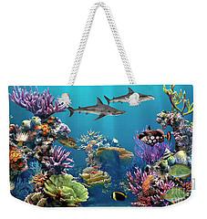 Colorful Coral Reef Weekender Tote Bag