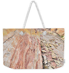 Colorful Crest In Valley Of Fire Weekender Tote Bag