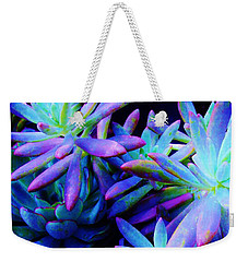 Colorful Dancing Succulents Weekender Tote Bag