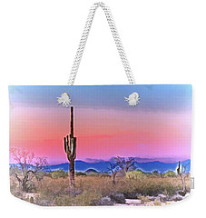 Colorful Desert Weekender Tote Bag