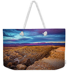 Colorful Desert Sunrise Weekender Tote Bag