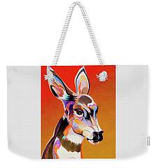 Colorful Doe Weekender Tote Bag