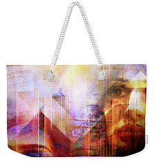 Colorful Drama Vision Weekender Tote Bag