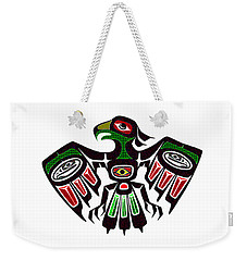 Colorful Eagle Symbol Weekender Tote Bag