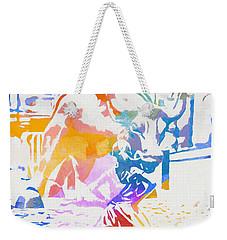 Colorful Fearless Girl Weekender Tote Bag