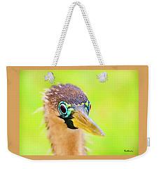 Colorful Female Anhinga Weekender Tote Bag