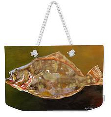 Colorful Flounder Weekender Tote Bag