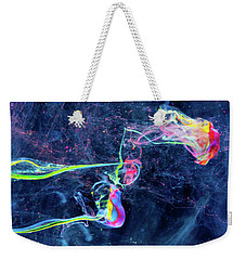 Colorful Flow - Abstract Photography Art Weekender Tote Bag