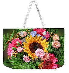 Colorful Flower Arrangement Weekender Tote Bag