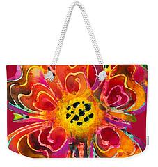 Colorful Flower Art - Summer Love By Sharon Cummings Weekender Tote Bag