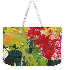Colorful Flower Still Life  Weekender Tote Bag