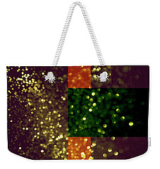 Colorful Geometric Abstract 3 Weekender Tote Bag