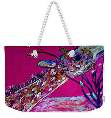 Colorful Giraffe Weekender Tote Bag