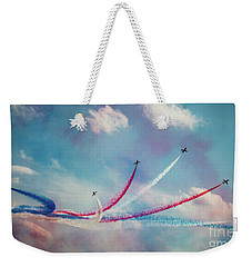 Colorful Weekender Tote Bag