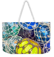 Colorful Glass Balls Weekender Tote Bag
