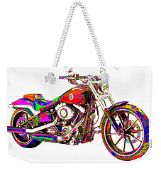 Colorful Harley-davidson Breakout Weekender Tote Bag