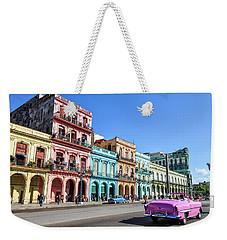 Colorful Havana Weekender Tote Bag