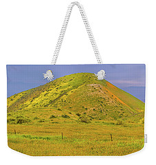 Weekender Tote Bag featuring the photograph Colorful Hill by Marc Crumpler