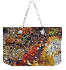 Colorful Hot Pool Weekender Tote Bag by C Sitton