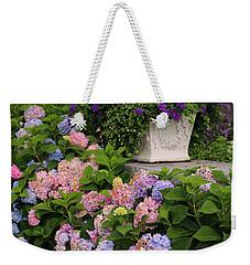 Colorful Hydrangea Weekender Tote Bag