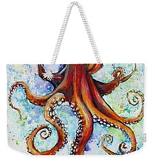 Colorful Ink Weekender Tote Bag