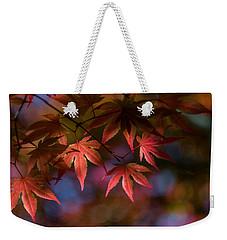 Colorful Japanese Maple Weekender Tote Bag