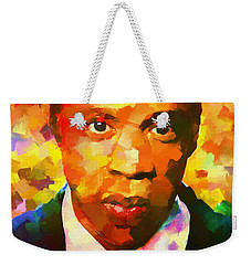 Colorful Jay Z Palette Knife Weekender Tote Bag by Dan Sproul