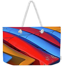 Colorful Kayaks Weekender Tote Bag