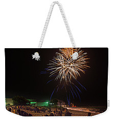 Weekender Tote Bag featuring the photograph Colorful Kewaunee, Fourth by Bill Pevlor