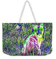 Colorful Kitty Weekender Tote Bag
