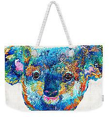 Colorful Koala Bear Art By Sharon Cummings Weekender Tote Bag by Sharon Cummings