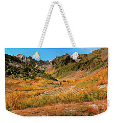 Colorful Mcgee Creek Valley Weekender Tote Bag