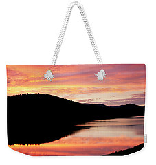 Colorful Midsummer Sunset Weekender Tote Bag