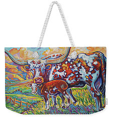 Colorful Momma Weekender Tote Bag