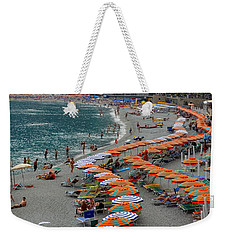 Colorful Monterosso Weekender Tote Bag by Corinne Rhode