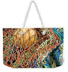 Colorful Nets And Float Weekender Tote Bag