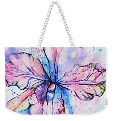Colorful Orchid Flower Weekender Tote Bag
