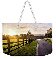 Weekender Tote Bag featuring the photograph Colorful Palette At Sunrise by Shelby Young
