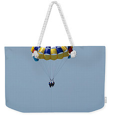 Colorful Parasailing Weekender Tote Bag