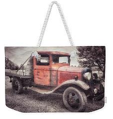 Colorful Past Weekender Tote Bag