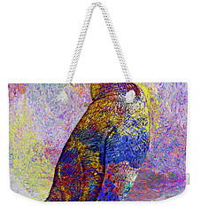 Colorful Penguin Weekender Tote Bag