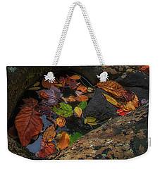 Colorful Pool Weekender Tote Bag