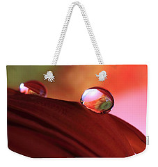 Colorful Reflections Weekender Tote Bag by Angela Murdock