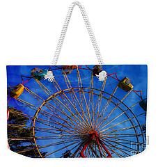 Colorful Ride Weekender Tote Bag