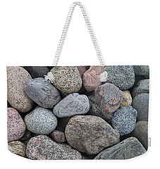 Weekender Tote Bag featuring the photograph Colorful Rocks by Richard Bryce and Family