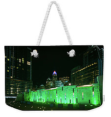 Weekender Tote Bag featuring the photograph Colorful Romare Bearden Park In Charlotte by Serge Skiba